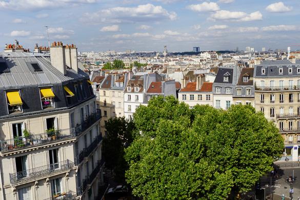 Bild der Aussicht aus der Studiowohnung PA-2650 in Saint-Germain