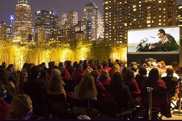 Bild des Rooftop Cinema Clubs