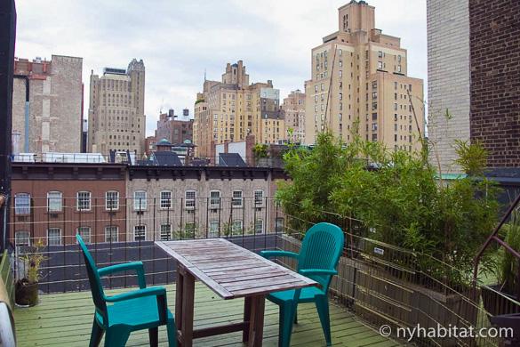 Bild der Terrasse der Wohnung NY-11848