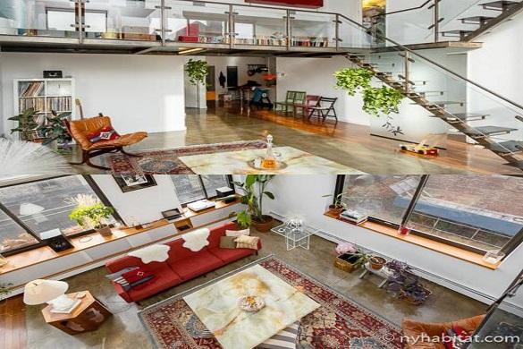 Bild der NY-16053-Wohnung auf drei Etagen in Prospect Heights