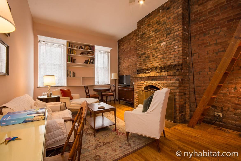 Foto einer Zwei-Zimmer-Wohnung in Chelsea, Manhattan NY12100