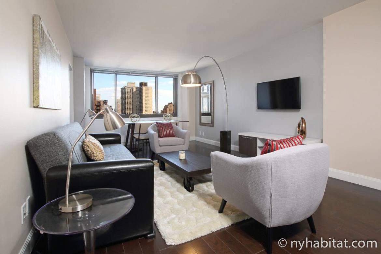 Foto vom Wohnzimmer in NY-16818 auf der Upper East Side