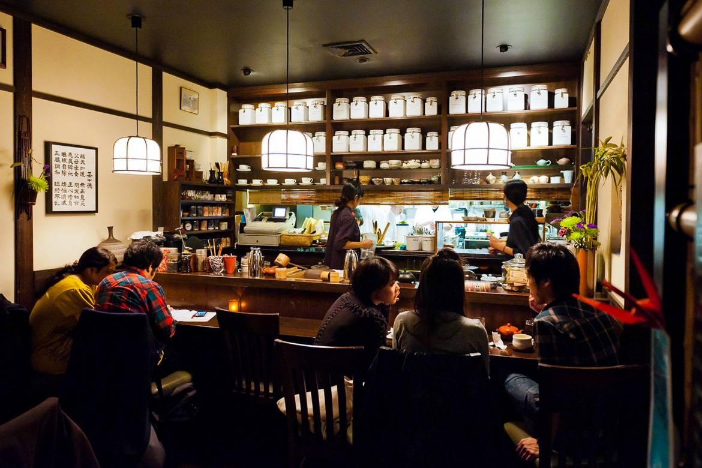 Innenansicht vom Cha-An Tea House