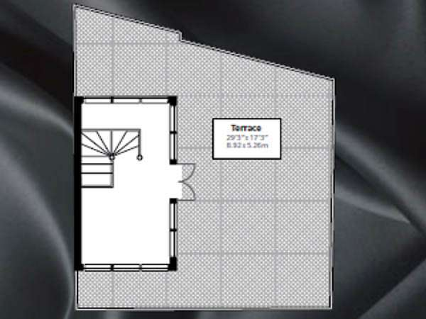 London 2 Bedroom - Penthouse apartment - apartment layout 1 (LN-842)