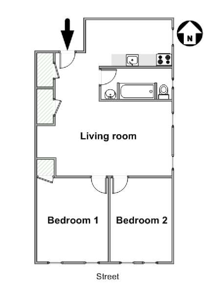 floor plans by address logement 224 new york location meubl 233 e t3 crown heights 17650