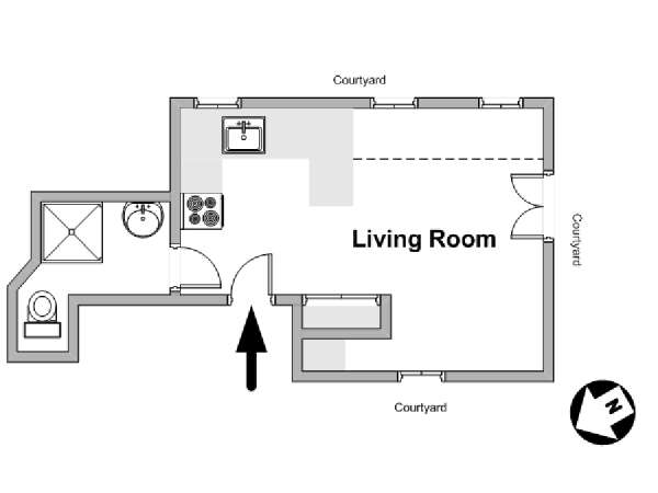 layouts of houses accommodation studio apartment rental in 13966