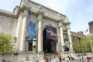 Saison d'hiver au Musée d'Histoire Naturelle de New York.