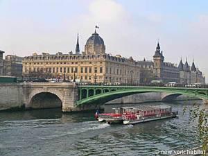Photo de la Seine dans le quartier de l'appartement PA-2585