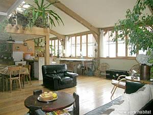 Location de vacances à Paris. Photo d'un appartement T4 à la Bastille, Marais (PA-3530)