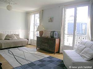 Location de vacances à Paris. Photo d'un appartement T2 dans le Quartier Latin, Saint Michel (PA-2534)