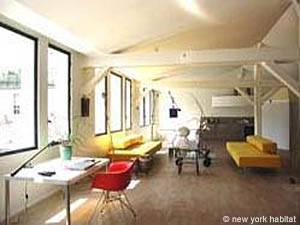Location de vacances à Paris. Photo d'un appartement T4 dans le quartier Marais, Les Halles (PA-1516)
