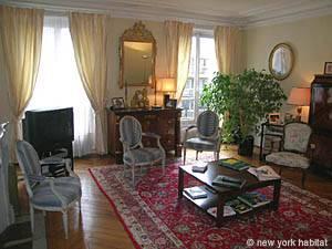 Location meublée à Paris. Photo d'un appartement T4 à Neuilly sur Seine (PA-3733)