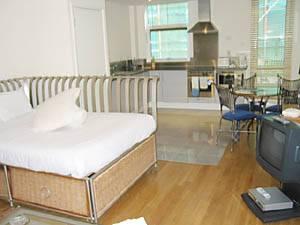 Location meublée à Londres. Photo d'un appartement T1 à la City, Islington (LN-286)