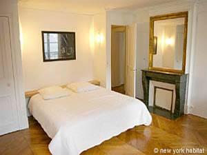 Location meublée à Paris. Photo d'un appartement T4 à Saint Germain des Pres, St Michel (PA-2646)