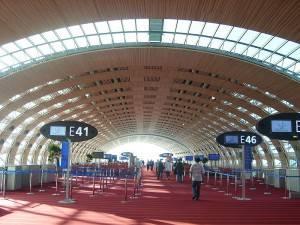 Tourisme et loisirs à Paris. Photo d'un terminal à l'aéroport Charles de Gaulle