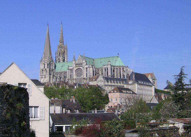 Excursion autour de Paris : Chartres et sa cathédrale