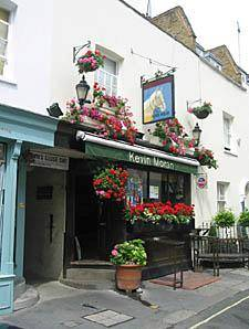 "Pub historique de Londres : ""The Nag's Head"""