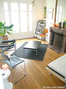 Location de vacances à Paris. Photo d'un appartement T3 à Belleville, Cité des Sciences (PA-3429)