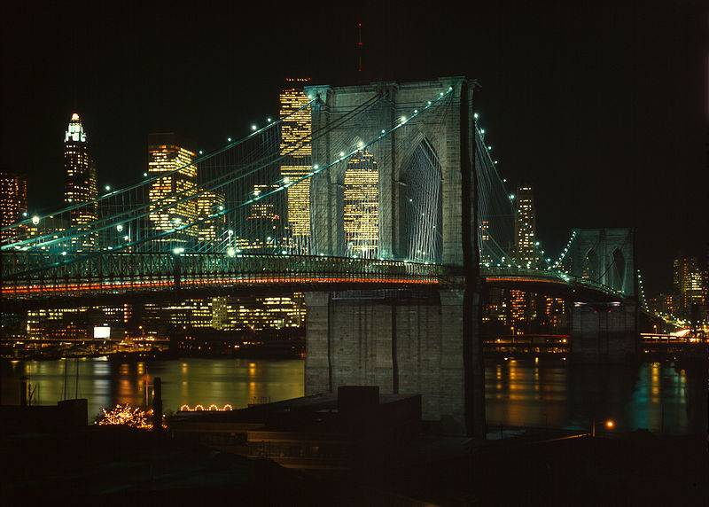 Photo : Pont de Brooklyn, New York