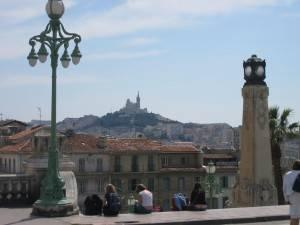 Photo : Vue de Marseille depuis la gare