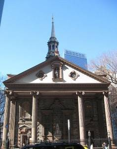 Top 5 des églises de New York : La Chapelle Saint-Paul