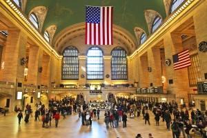 Gare Grand Cental a New York