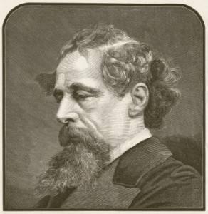Photo : Portrait de Charles Dickens