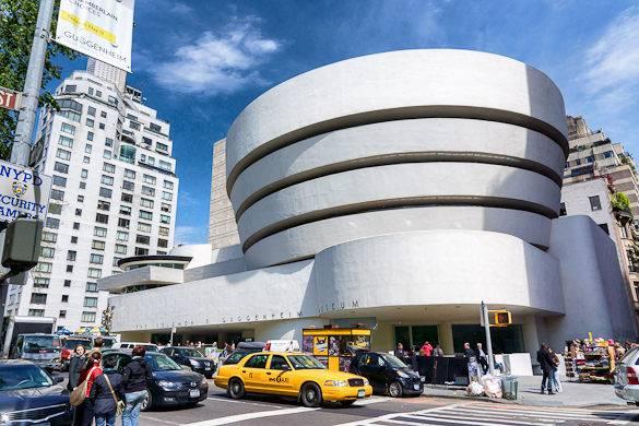 Photographie du Solomon R. Guggenheim Museum à New York
