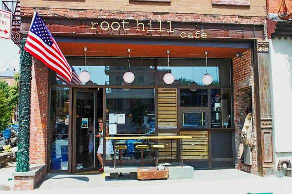 Photo du café Root Hill dans le quartier de Park Slope