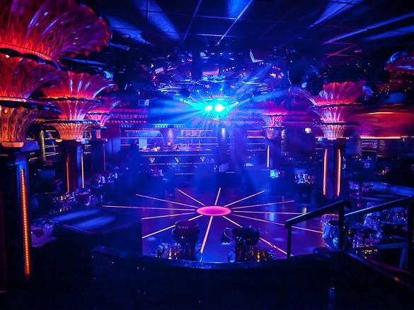 Photo d'une discothèque à Saint-Tropez