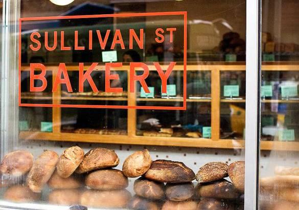 Photo de la boulangerie de Sullivan Street à Hell's Kitchen