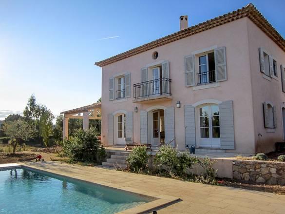 Image d'une location de vacances avec piscine dans le Sud de la France