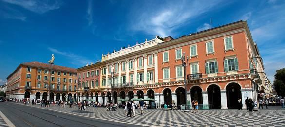 Photo de la place Massena à Nice