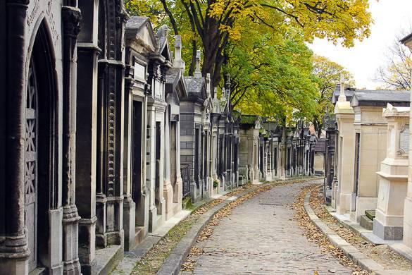 Photo du cimetière du Père-Lachaise
