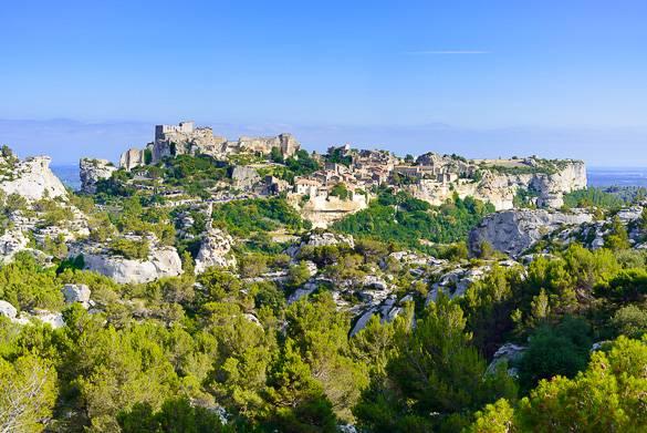Photo des Baux-de-Provence dans les Alpilles