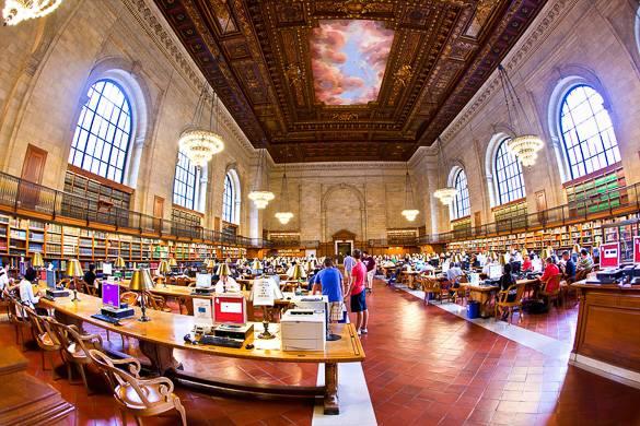 Photo de la Bibliothèque Publique de New York