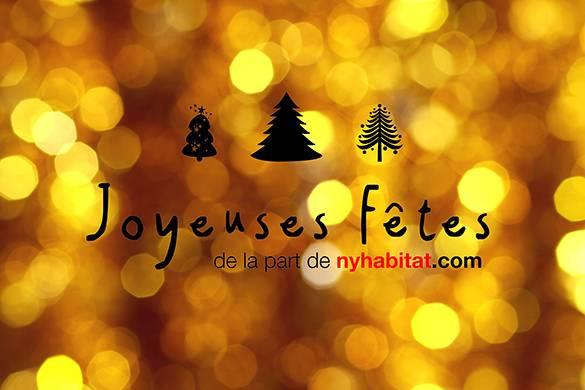 New York Habitat vous souhaite de Joyeuses Fêtes !