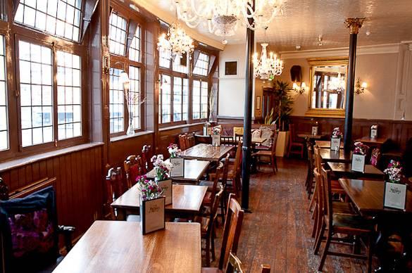 Photographie du pub Sun in Spendour de Notting Hill
