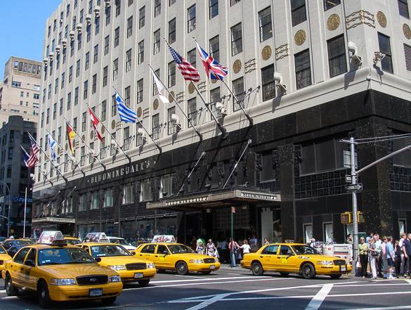 Photo de Bloomingdales dans l'Upper East Side, à Manhattan.