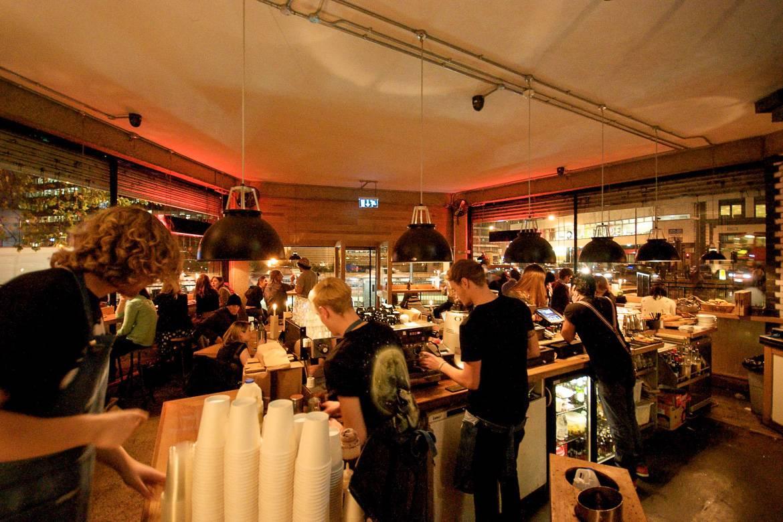 Photo du café londonien The Shoreditch Grind