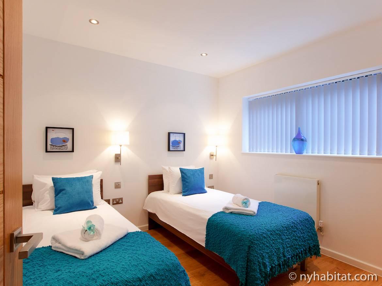 Photo d'un appartement T4 situé dans Regent's Park, à Londres.