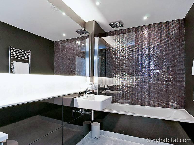 Photo d'un appartement T2 situé dans Paddington, à Londres.