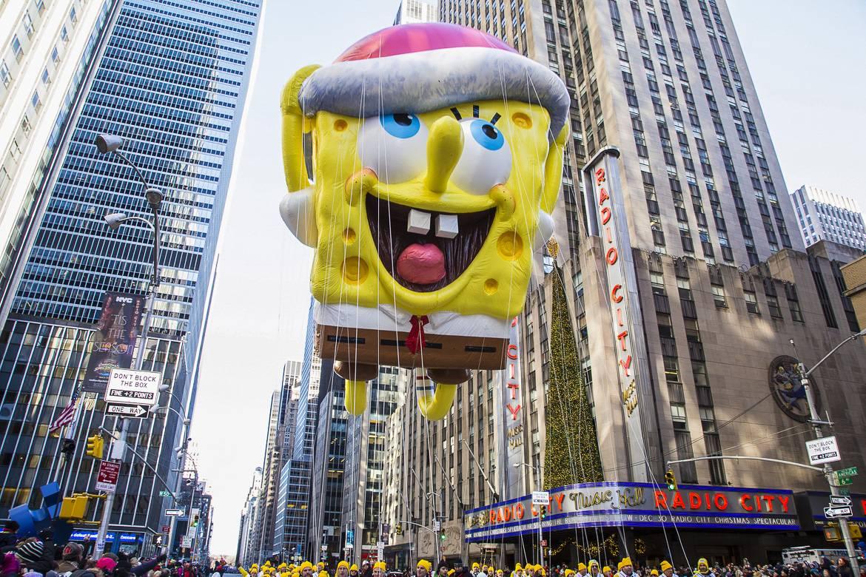Image de la parade Macy's de Thanksgiving.