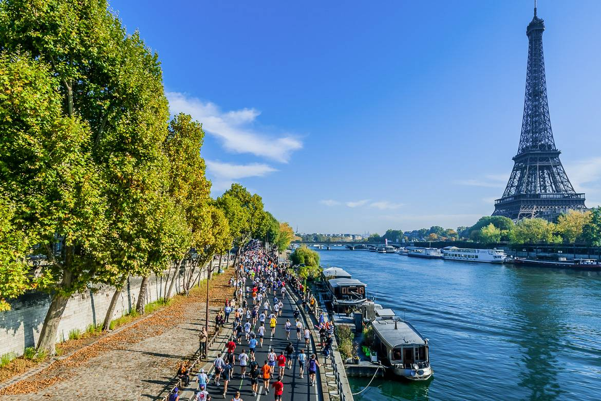 Photo du marathon de Paris