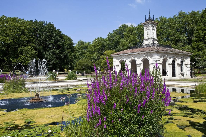 Photo des jardins de Kensington
