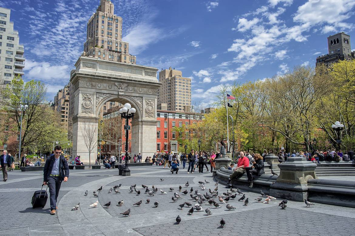 Image de l'arche de Washington Square