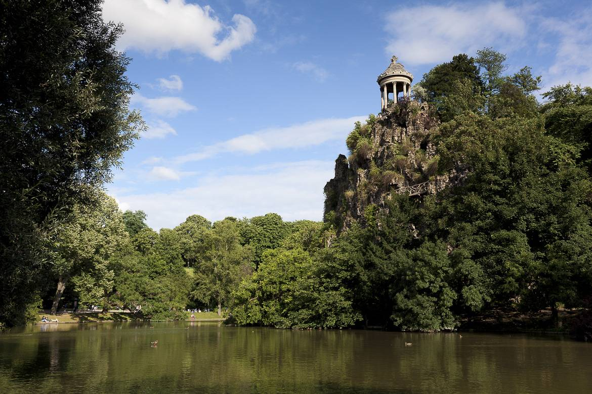Photo du parc des Buttes-Chaumont