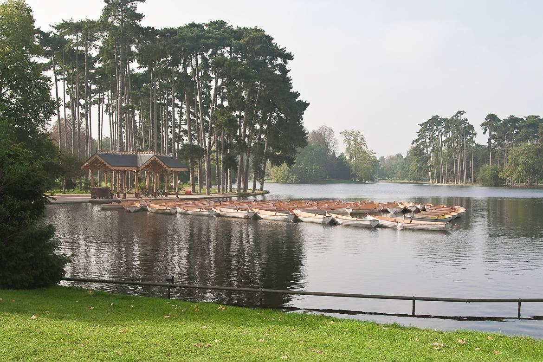 Photo du bois de Boulogne