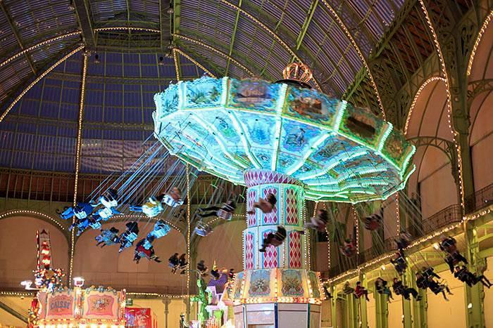 Jours de fêtes au Grand Palais à Paris