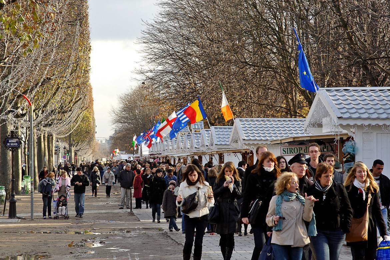 Le marché de Noël des Champs-Élysées